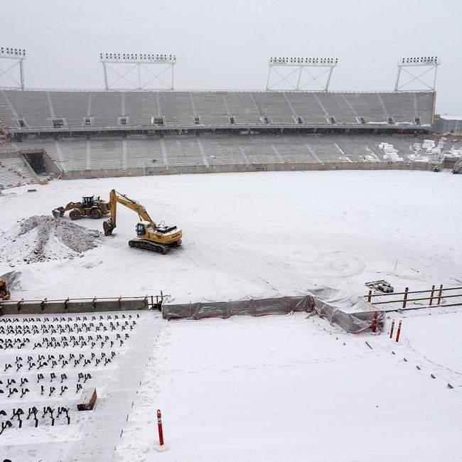 stadium snow_